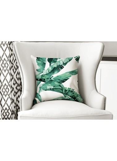 Lyn Home & Decor Yapraklar Yastık Kılıfı Renkli